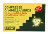 Argilla Verde con Salvia, Anice, Finocchio e Menta - 80 Compresse