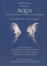 Aqua: Scienza, filosofia e poesia a confronto - DVD