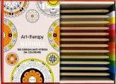 Art Therapy Mandala - Libro + 12 Matite
