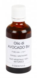 Avocado Bio - Olio Base Puro - 50 ml