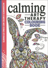 Calming - Art Therapy Colouring Book