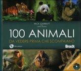 100 Animali da Vedere Prima che Scompaiano + DVD