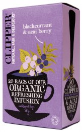 Clipper - Blackcurrant and Acai Berry - Infuso Ribes Nero e Acai