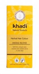 Colore Vegetale per Capelli - Middle Blond - Biondo Medio