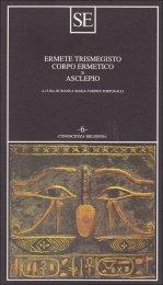Corpo Ermetico e Asclepio - Libro