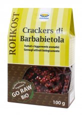 Crackers di Barbabietola