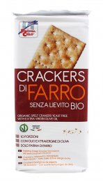 Crackers di Farro Bio senza Lievito