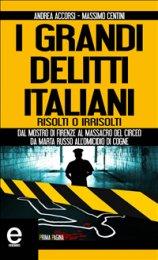 eBook - I Grandi Delitti Italiani Risolti o Irrisolti