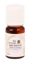 Erbe Magiche - Olio Essenziale di Menta e Lemongrass 10 ml