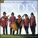 Flutes and Papnpipes from the Andes - CD
