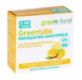 Greentabs - 25 Pastiglie per Lavastoviglie