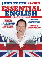 Inglese Essenziale per Italiani - Essential English - 5 DVD