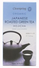 Japanese Roasted Green Tea - Hojicha - 20 Bustine
