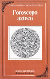 L'oroscopo Azteco