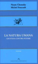 La Natura Umana - Libro