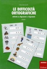 Le Difficoltà Ortografiche Vol.1 - Libro