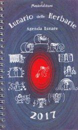 Lunario delle Herbarie 2016 - Agenda