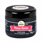 Maca Rossa in Polvere Bio - Maca Red Powder Raw Organic
