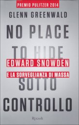 No Place to Hide - Sotto Controllo - Libro