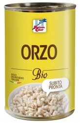 Orzo Biologico in Lattina - 400 g