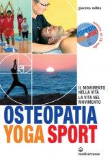 Osteopatia Yoga Sport con CD Audio