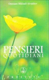 Pensieri Quotidiani 2014 - Libro