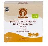 Polpa Del Frutto di Baobab Bio - 20 Bustine Mondose da 5g