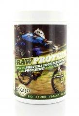 Raw Protein - Mix di polveri 100% Vegetali con Proteine della Canapa