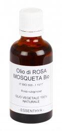 Olio di Rosa Mosqueta Bio - Olio Vegetale 100% Naturale - 50 ml