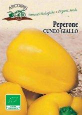 Semi di Peperone Cuneo Giallo - 0,5 gr - BU051
