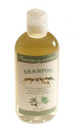 Shampoo con l'1% di Sapone di Aleppo - Capelli Grassi