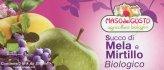 Succo di Mela e Mirtillo Biologico - 3 Brik da 200 ml