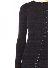 T-shirt Riscaldante All'arnica Nera Donna - Taglia L/Xl