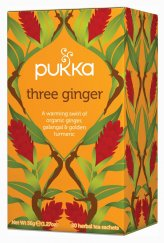 Three Ginger - Tre Zenzeri - Tisana Pukka