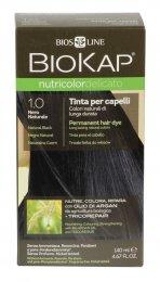 Tinta per Capelli BioKap Delicato - 1.0 Nero Naturale