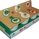 Tricolorto - Kit libro + Vasetti e Bustine di Semi