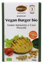 Vegan Burger Bio - Grano Saraceno e Ceci Precotti