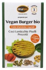 Vegan Burger Bio - Ceci, Lenticchie, Piselli