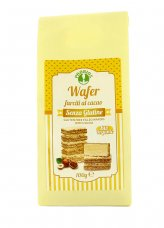 Wafer Farciti al Cacao senza Glutine
