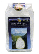 Sale Bianco Fine - Cristalli di Sale dell'Himalaya - BK52