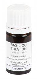Basilico Tulsi Bio - Olio Essenziale Puro - 5 ml