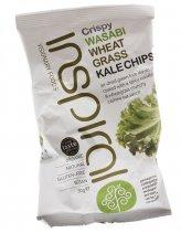 Crispy Wasabi Wheat Grass - Wasabi e Erba di Grano