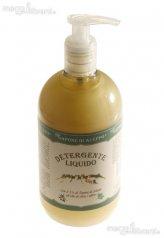 Detergente Liquido con Il 5% di Sapone di Aleppo all'olio di Oliva e Alloro - 1000 ml