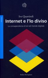 Internet e l'Io Diviso - Libro