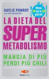 La Dieta del Super Metabolismo - Libro