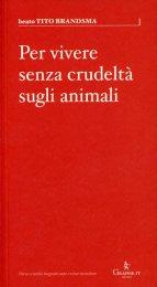 Per Vivere senza Crudeltà sugli Animali - Libro