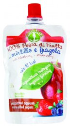 Polpa di Frutta con Mirtillo e Fragola