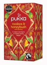 Rooibos & Honeybush - Tisana Pukka