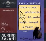 Storia di una Gabbianella e del Gatto che le insegnò a Volare - Audiolibro - 2CD