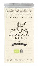 Tavoletta di Cioccolato Crudo Fondente 90%